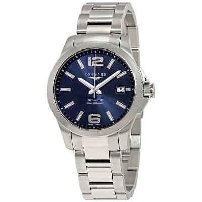 Longines Conquest Automatic Blue Dial Men's Watch L3.776.4.99.6