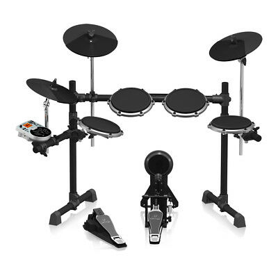 Behringer XD80USB High-Performance 8-Piece Electronic Drum Set, New!