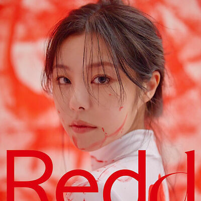 MAMAMOO WHEE IN REDD 1st Mini Album CD+Photo Book+2 Card+Sticker+Ticket SEALED