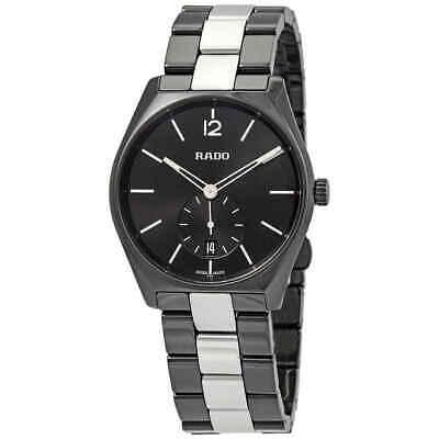 Rado True Specchio Black Dial Men's Watch R27081157