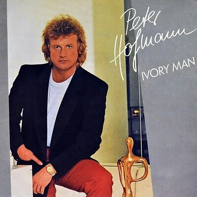 "7"" PETER HOFMANN Ivory Man / Hymn CBS 45rpm orig. 1984 NEUWERTIG!"