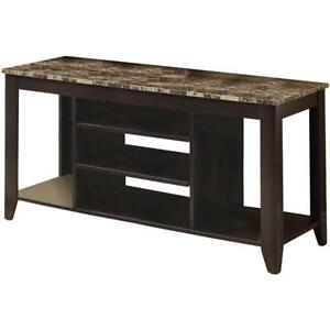 Monarch I 3525 TV Console Table (Assembled)