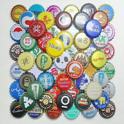 50pcs China Bottle beer Caps KRONKORKEN CROWN CAPS