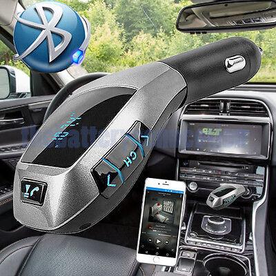 Wireless Bluetooth Car Kit FM Transmitter Handsfree LCD MP3 Player USB