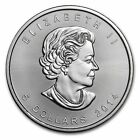 Royal Canadian Mint 2014 Uncertified Silver Bullions