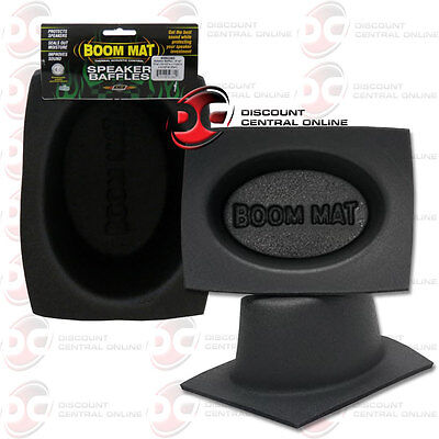 Boom Mat (PAIR DEI 050380 BOOM MAT POLYTHYLENE FOAM SPEAKER BAFFLES FITS 6 x 9