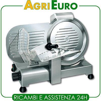 Affettatrice professionale RGV Lusso 25GS - Lama 250mm - 140W - Con affilatoio