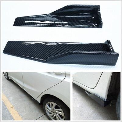Carbon Fiber Color Car Side Skirt Rocker Splitter Canard Diffuser Winglet Wing