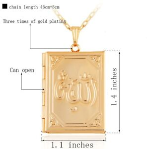 Allah locket ( new) gold plated