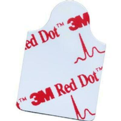 1-pack 3m 1.75 X 78 Red Dot 100 Ekg Tab Style Resting Electrode 2330