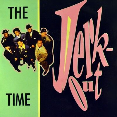 "7"" THE TIME Jerk Out CV PRINCE MORRIS DAY Funk PAISLEY PARK orig. 1990 like NEW!"