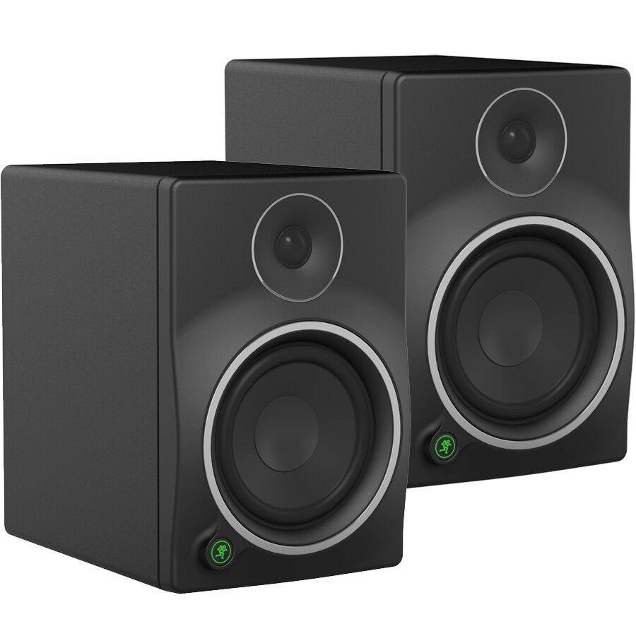 "Mackie MR8 MK3 8"" Full-Range Reference Active Powered DJ Studio Monitors , Speakers / As New !"
