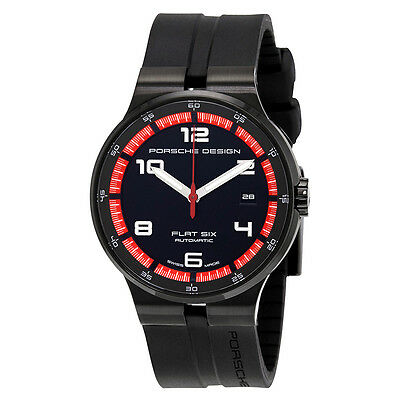 Porsche Design Flat Six Automatic Mens Sports Watch 6351.43.44.1254