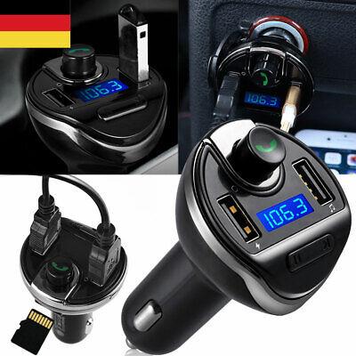 Bluetooth FM Transmitter Auto MP3 Player USB Stick KFZ TF AUX Zigarettenanzünder (Fm-transmitter Bluetooth Auto)