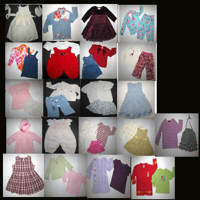 Girls 18-24 Month Mixed clothing lot of 37 Clean pieces, Gymboree,Gap, Etc.