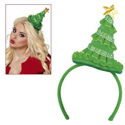 TANNENBAUM HAARREIF HUT Weihnachtsbaum Christbaum Weihnachten Kostüm Party 13429