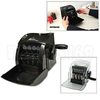 Counting Machine Coin Sorter Counter Accurate Precise Sorting Counter Bank Shop