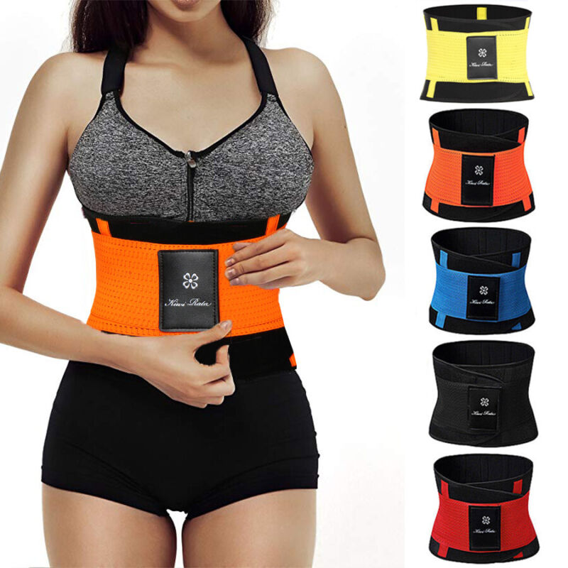 Xtreme Sports Sweat Belt Slimming Body Shaper Waist Trainer