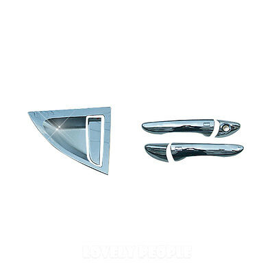Chrome Door Handle Cover Molding for Hyundai Veloster 2011 - 2013