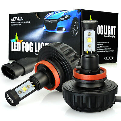 Jdm Astar 1G 2X H16 H16w 64219 L  High Power 6000K White Fog Light Led Bulbs