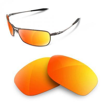 SURE Ersatzgläser für Oakley Crosshair 2.0 ( Polarisierte Fire Iridium Linsen)