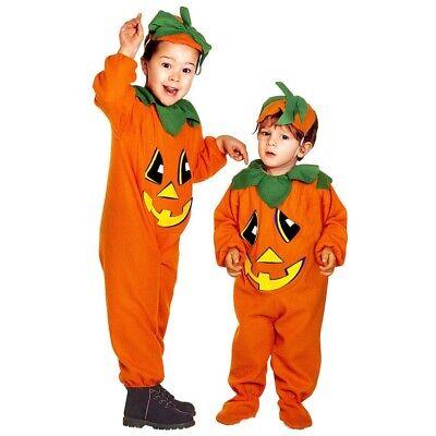 KÜRBIS Kinder Kleinkinder Kostüm für Mädchen Jungen Pumpkin- - Halloween Kostüme Für Kleinkinder Jungen