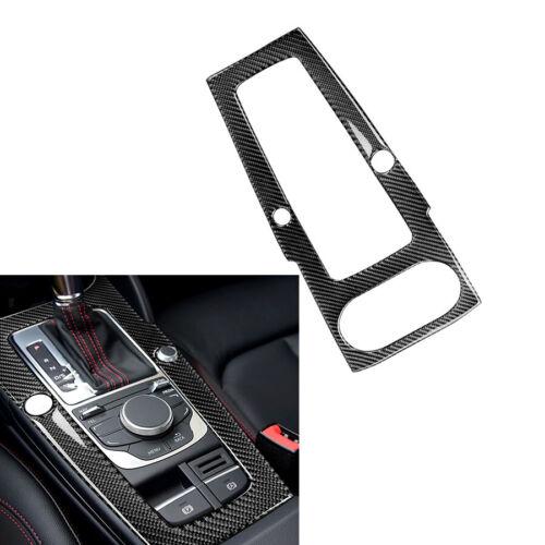For Audi A5 09-16 Q5 10-18 Carbon Fiber Center Console Gear Shift Panel Cover