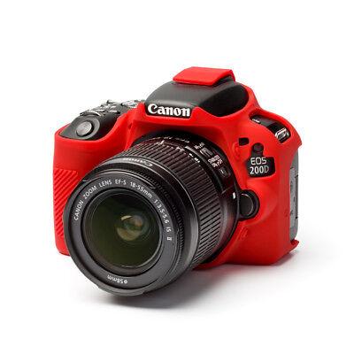 easyCover canon 200D / SL2 RED EA-ECC200DR Camera Case Silicone FREE SHIPPING