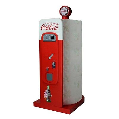 Coca Cola Retro Vending Machine Paper Towel Holder