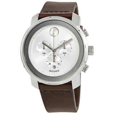 Movado Bold Chronograph Quartz Silver Dial Men's Watch 3600465