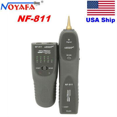 Usa Ship Noyafa Nf-811 Tone Generator And Probe Kit Trace Rj11 Rj45 Cables