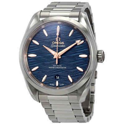 Omega Seamaster Aqua Terra Co-Axial Master Chronometer Automatic Blue Dial