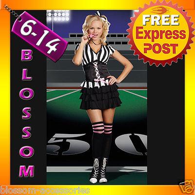 G41 Ladies Sports Referee Umpire Football Soccer  Fancy Dress Halloween Costume - Halloween Costumes Soccer Referee