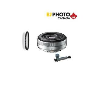 Fujifilm XF 27mm f2.8,  German Schott Glass Filter