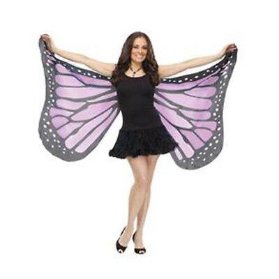 Schmetterlingsflügel Lila Weich Sexy Damen Erwachsene Kostüm - Blauer Schmetterling Flügel Kostüm