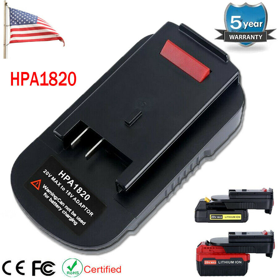 HPA1820 Battery Adapter For Black & Decker 20V Li-ion To 18V