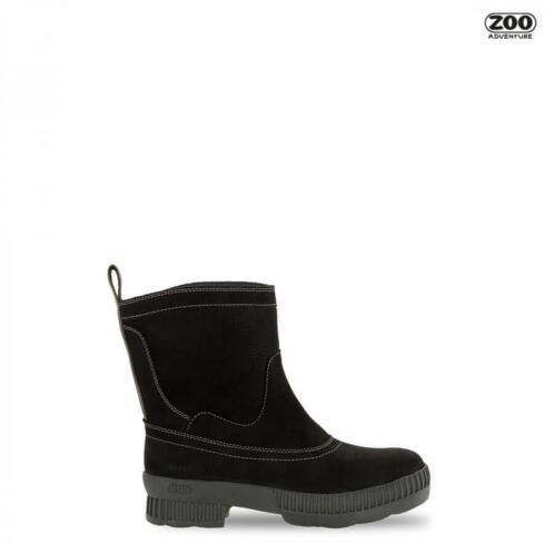 ≥ Outdoor laarzen dames ZOO Adventure zwart leer 42