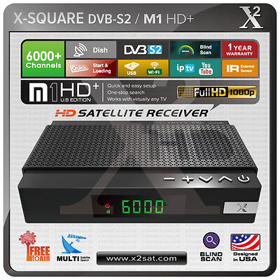 X2 M1 HD+ FTA DVB-S2 PVR Mini HD Satellite Receiver - New Version for sale  Shipping to South Africa