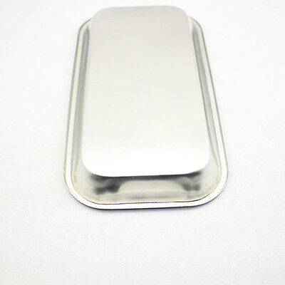 5 Pcs Dental Stainless Steel Medical Tray Lab Instrument High Quality On Sale