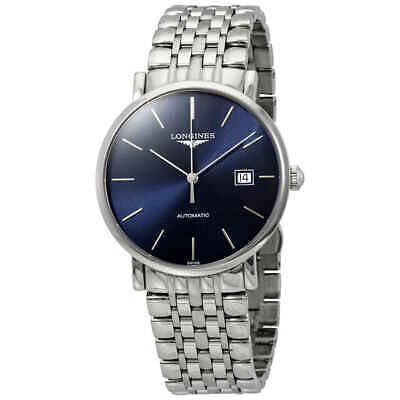 Longines Elegant Blue Dial Automatic Men's Watch L49104926