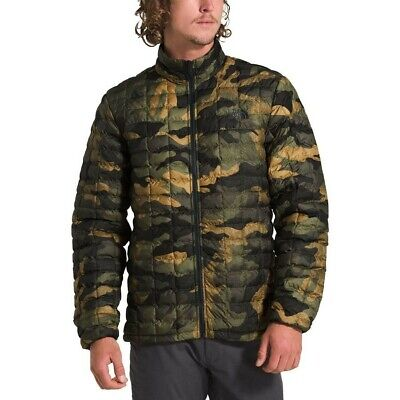 NWT The North Face Men's Slim Fit CAMO Packable ThermoBall™ Eco Jacket Medium M