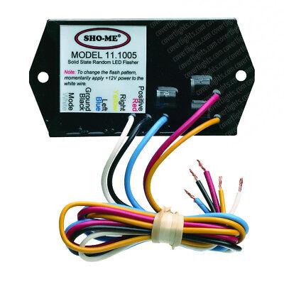 SHO-ME LED FLASHER 7 PATTERNS - Model# 11.1005