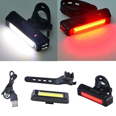 6 Modes Bicycle Bike Light Front Rear Tail Cycling Safety Warning Flashing Lamp