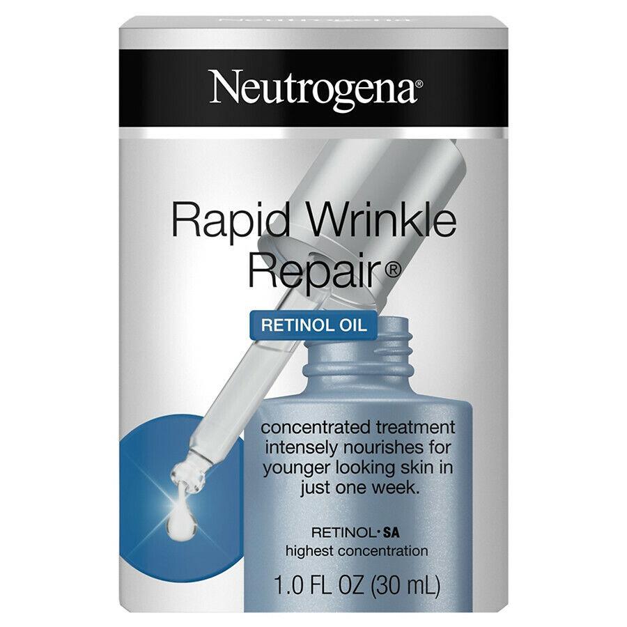 Neutrogena Rapid Wrinkle Repair Retinol Oil Serum for Dark S