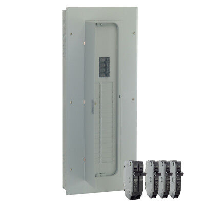 Ge 200-amp Indoor Main Breaker Electrical Load Panel Box 40-circuit 32-space