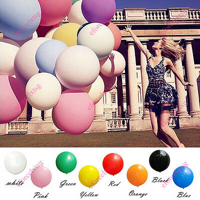 Hot 36'' Inch 90cm Big Size Latex For Party Wedding Decoration Launched Balloons
