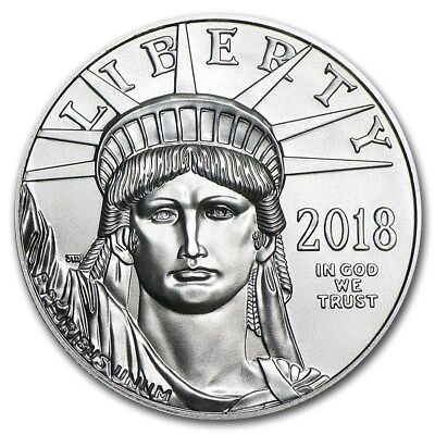 2018 1 Oz Platinum American Eagle Bu   Sku  168663