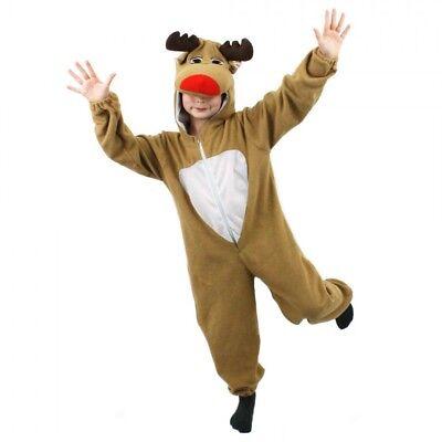 NESIE FÜR KINDER TOLLE WEIHNACHTS VERKLEIDUNG KOSTÜM  (Rentier Kostüme Für Kinder)
