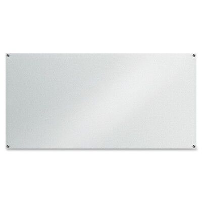 "Lorell Glass Dry-Erase Board - 72"" (6 ft) Width x 36"" (3 ft) Height - Frost..."