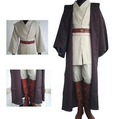 Obi-Wan Kenobi Kostüm Star Wars Jedi Cosplay Umhang Größen S/M/L/XL/2XL